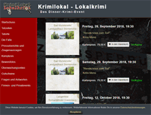 Tablet Preview of krimilokal-lokalkrimi.de